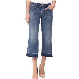 Tommy Bahama Tema Cropped Raw Hem Boyfriend Jeans